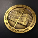 Médaille officielle de commune