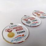 Impression quadri sur médailles
